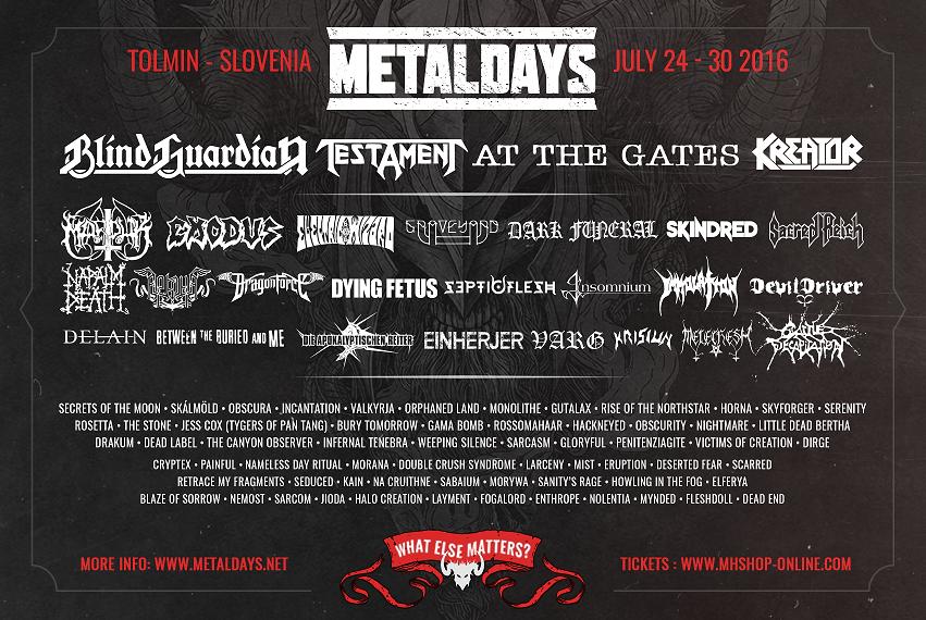 Days tolmin metal MetalDays Tolmin,